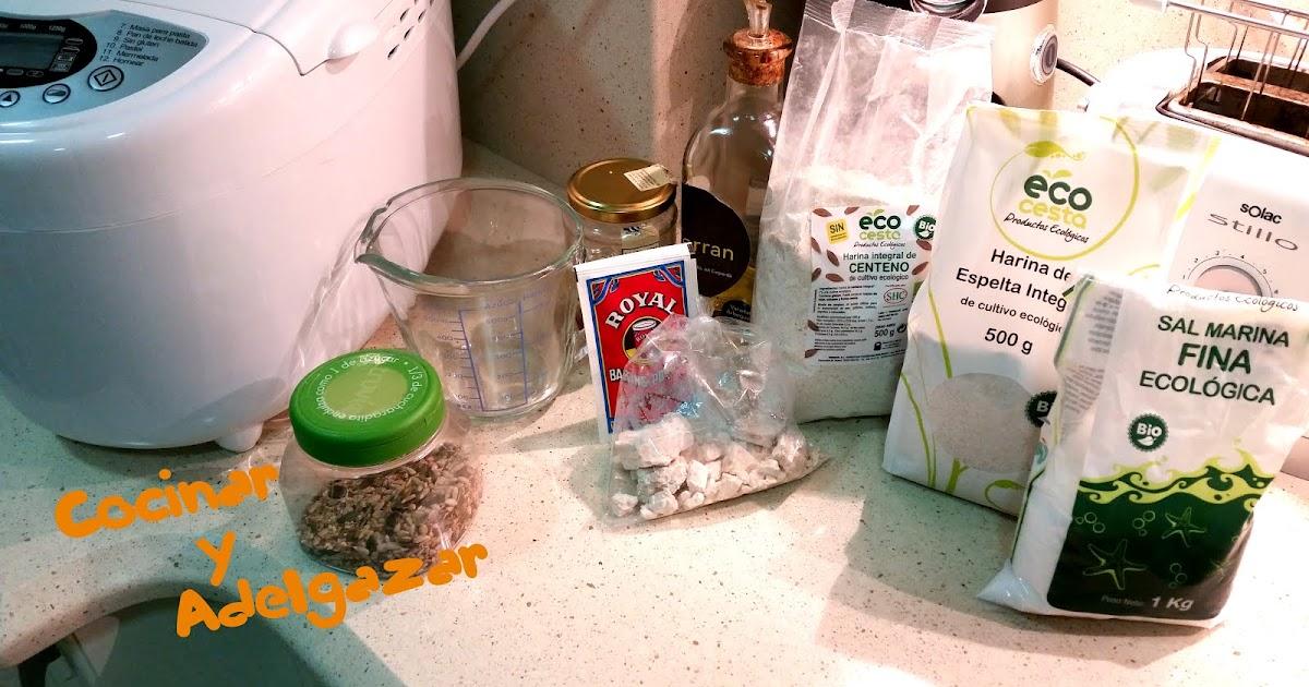Cocinar y adelgazar pan integral de centeno con panificadora for Cocinar y adelgazar