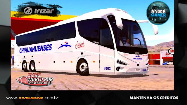 IRIZAR i8 - VIAÇÃO TRANSPORTES CHIHUAHUENSES