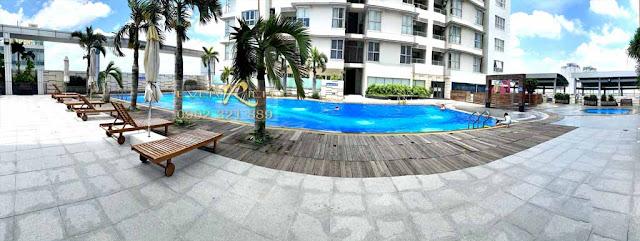 Khu bể bơi tại The Everrich 1