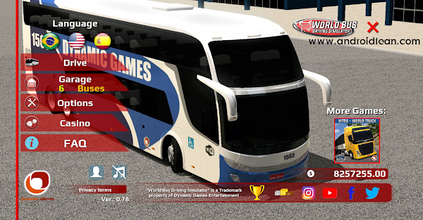 World Bus Driving Simulator 0.78 MOD (Unlimited Money + Unlocked)
