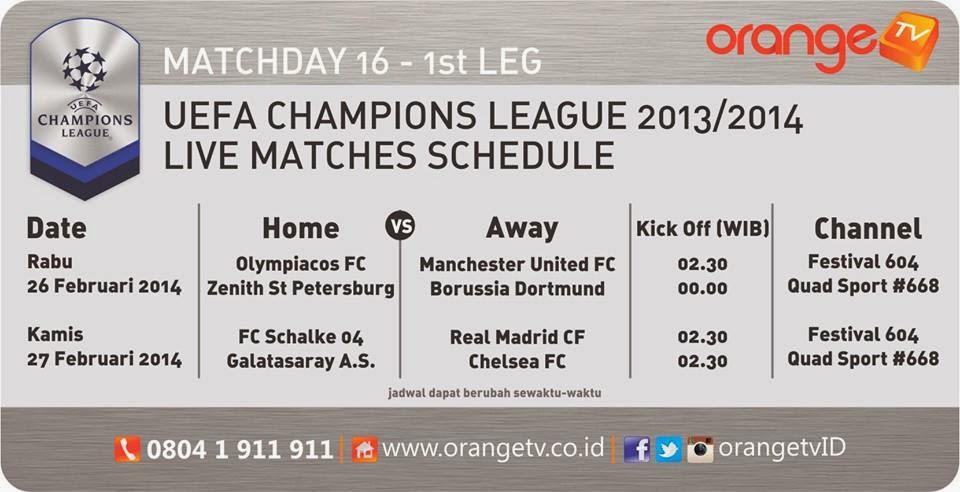 Update Jadwal Tayangan Pertandingan Sepakbola Piala UEFA Dealer