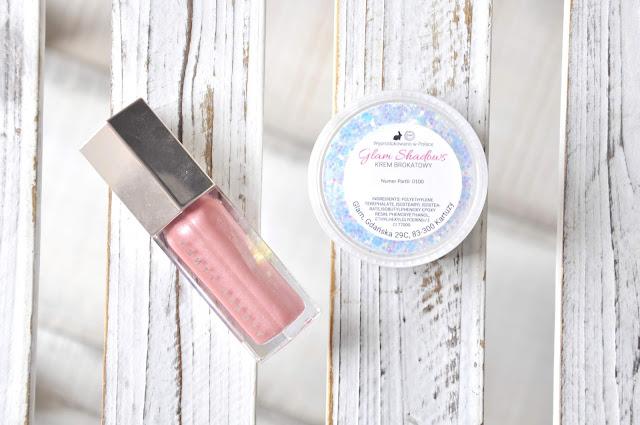 błyszczyk do ust fenty beauty gloss bomb universal lip luminizer fussy, krem brokatowy glamshop