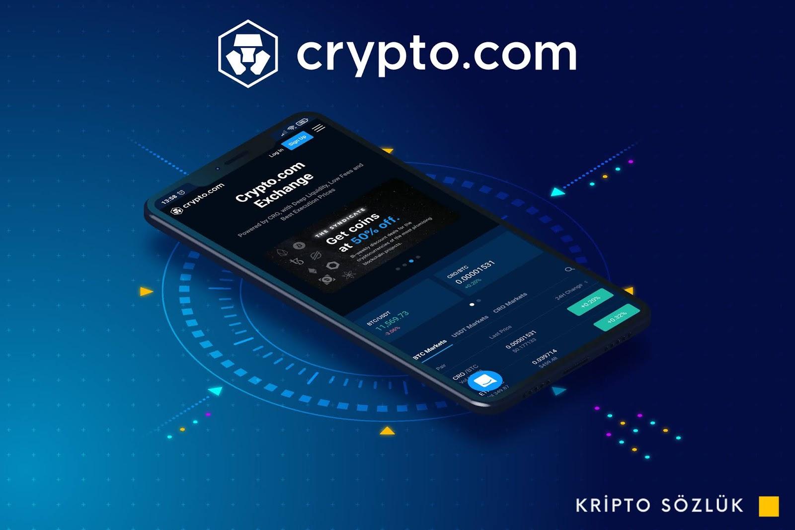 Crypto.com Referans İle 2.000 Dolara Kadar Kazanın