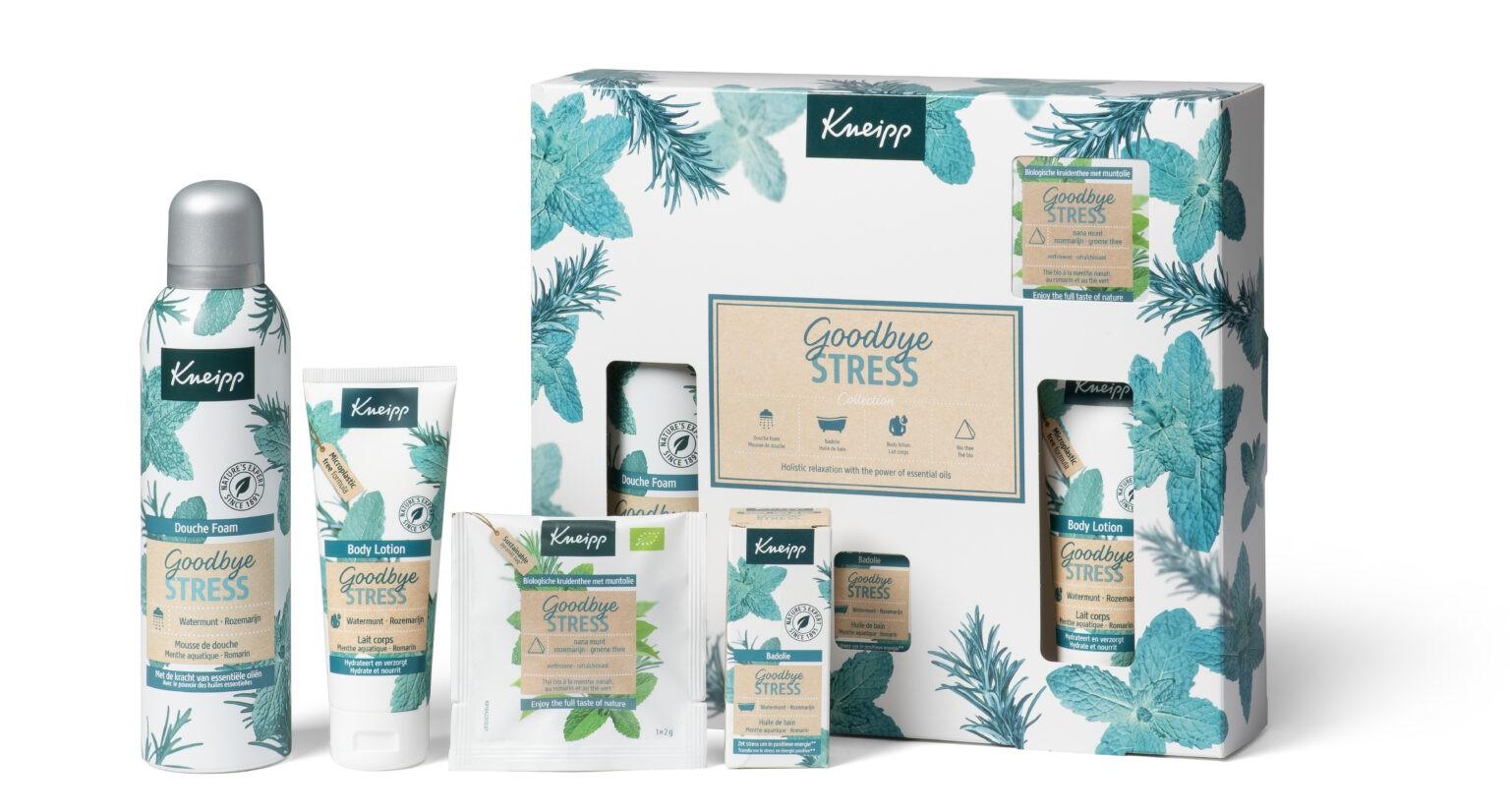 Nieuwe kneipp Giftsets voor Sint/kerst 2020 Goodbye stress collectie