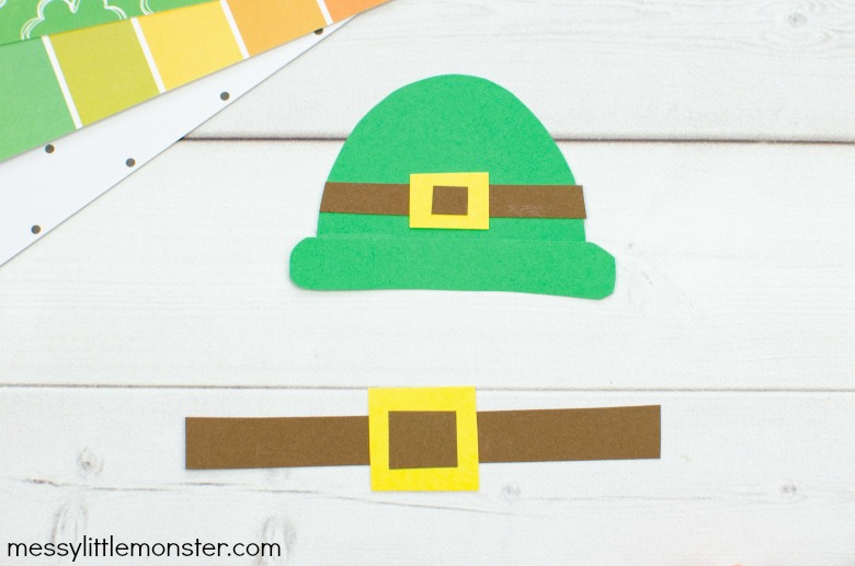 printable leprechaun template