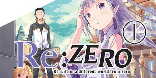 Actu Manga, Manga, Opération éditeur, Ototo, Re:Zero Re:Life, Shonen,