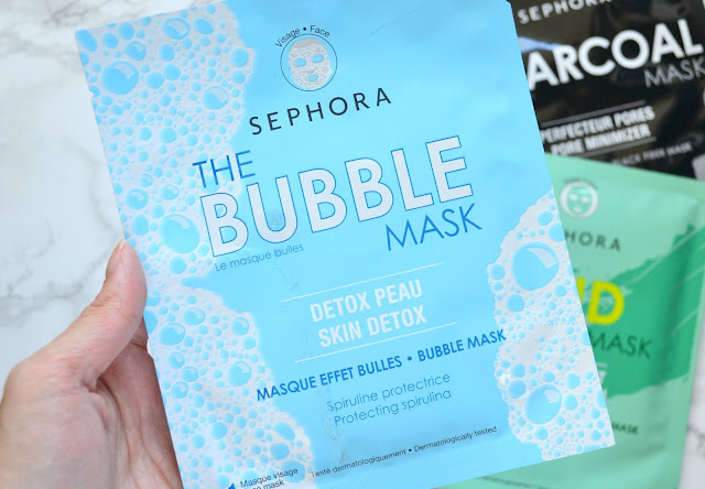 sephora collection bubble sheet mask