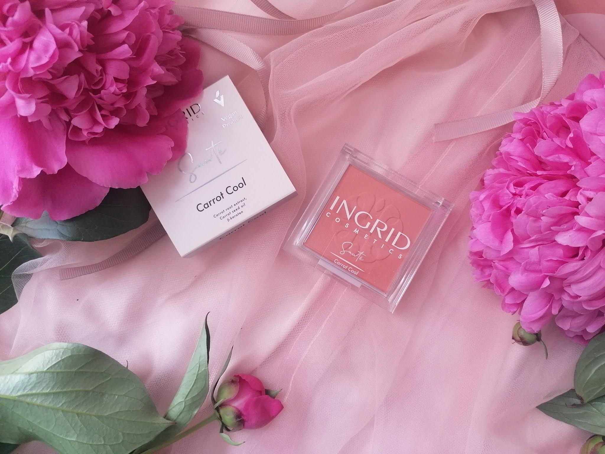 ingrid cosmetics róż do policzków