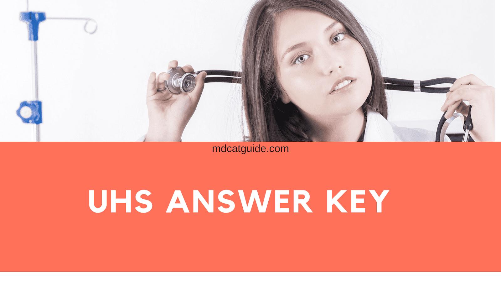 uhs answer key 2019