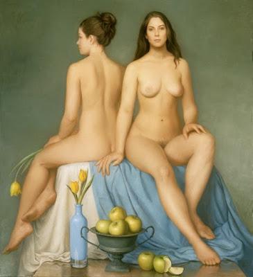 Desnudos Mujeres Voluptuosas Pinturas Americanas al Oleo