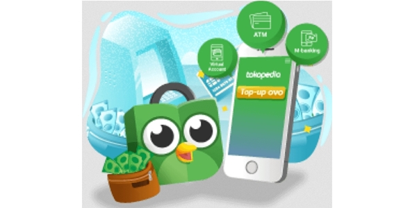 Cara Isi Saldo Top Up OVO Tokopedia