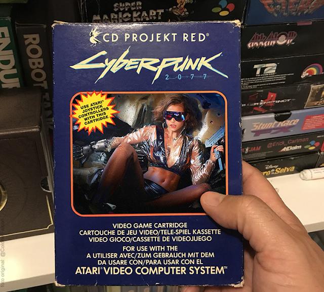 Cyberpunk 2077 para Atari