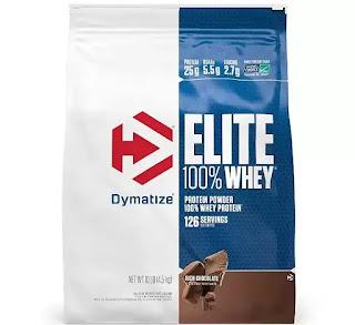 6. Dymatize Nutrition Elite Whey Protein Powder.