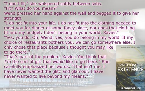 Glitz and Glamour #FractionsofExistence @JLenniDorner