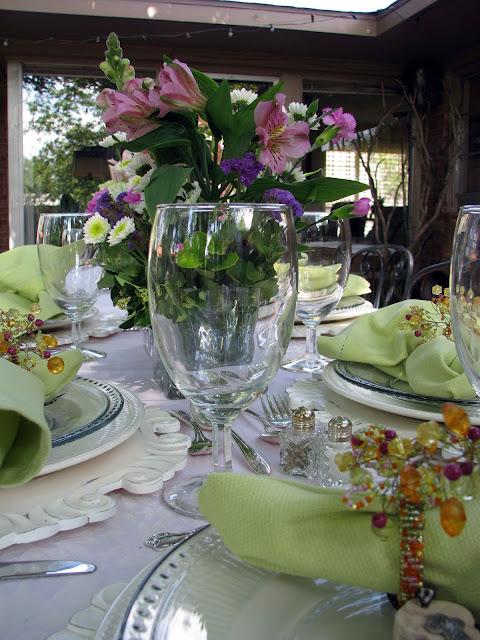 Creative Journeys Ladies Luncheon Tablescape