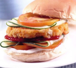 Egg Burger Recipe