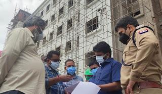 डीएम व एसपी ने मेडिकल कॉलेज का किया निरीक्षण  | #NayaSaberaNetwork