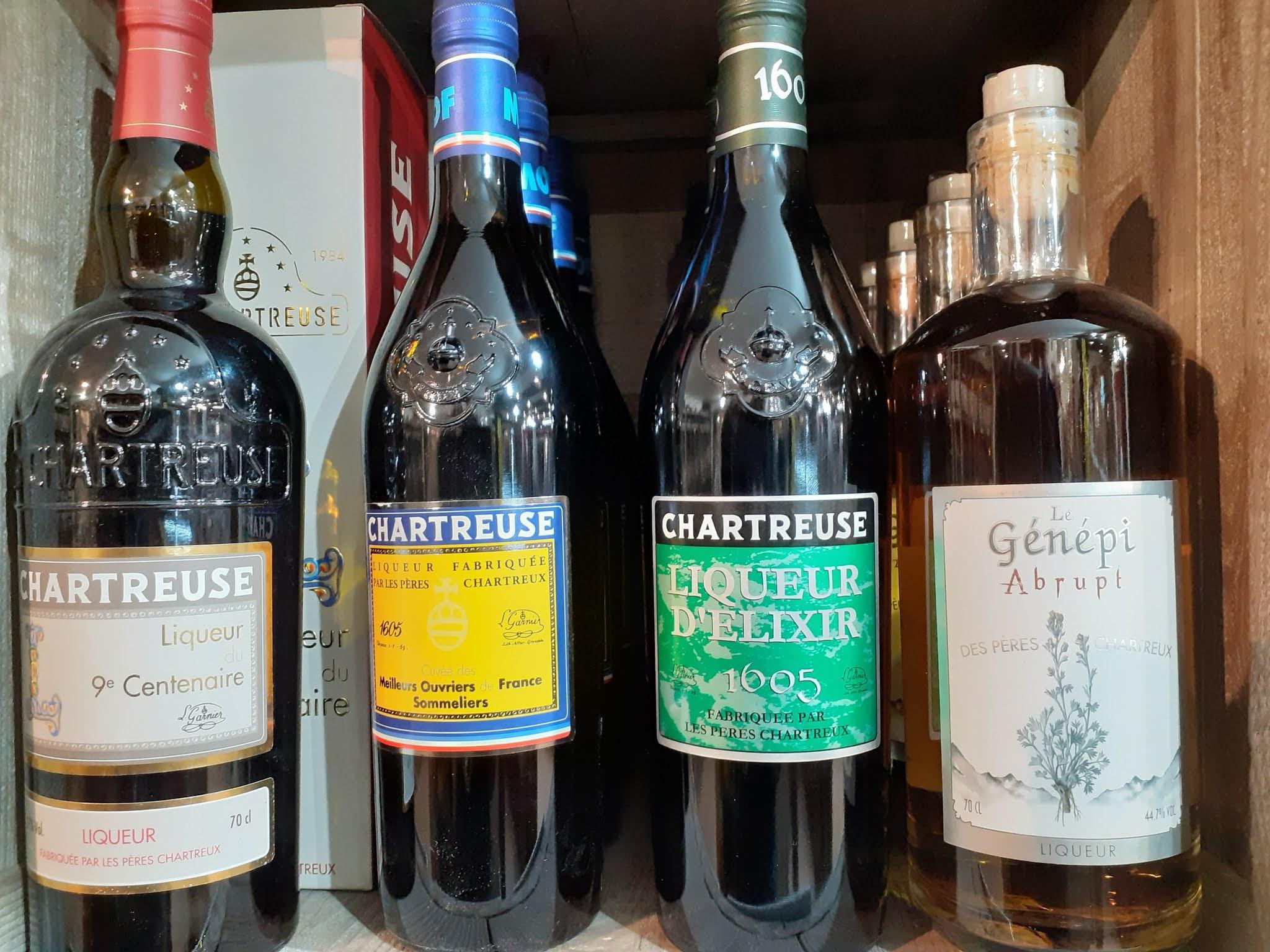 Liqueurs de Chartreuse centenaire et génépi - Voiron