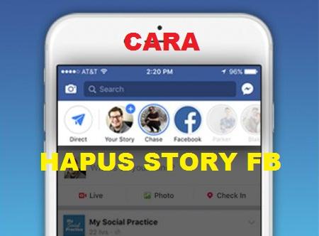 Cara Menghapus Cerita di FB yang Sudah Lama