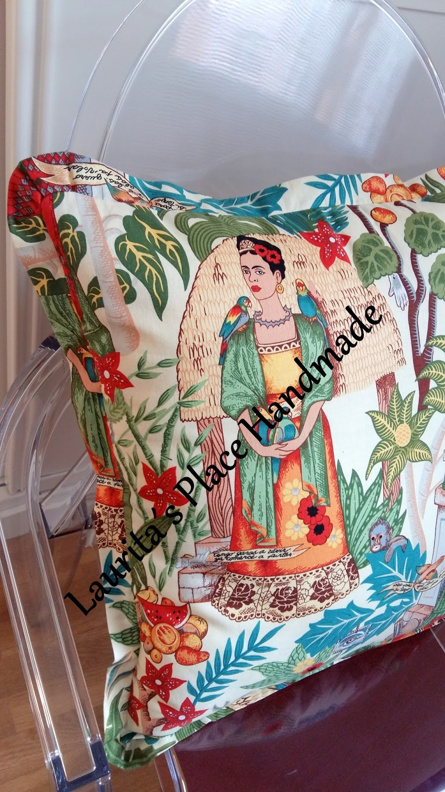 Laurita 180 S Place Handmade Diy Cojines Frida Kahlo Y Silla