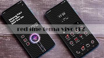 Tema Vivo: Red Line Tema Vivo Y20, Y12, Y 71,  dan Seri Lainnya Tembus Aplikasi
