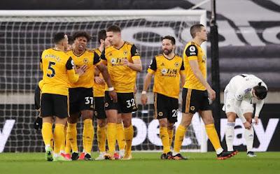 Hasil dan Klasemen Liga Inggris Sabtu Dinihari 10 April: Fulham vs Wolves 0-1