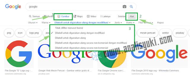 Cara Mencari Gambar Bebas Hak Cipta untuk Blog AdSense
