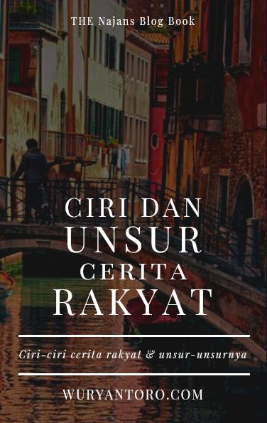 e-book cover Ciri dan Unsur Cerita Rakyat