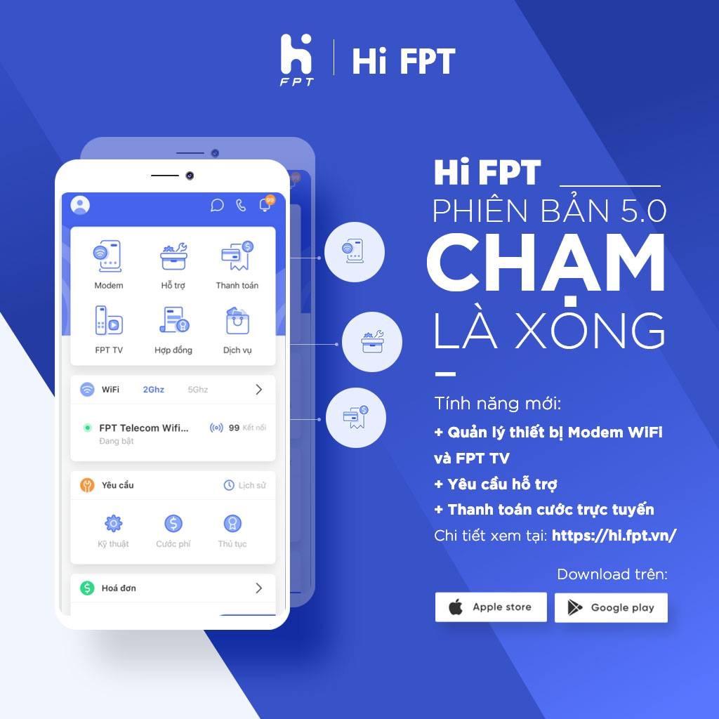 Tải ứng dụng Hi FPT