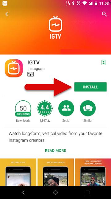 كيفية إنشاء قناة فيديو في انستقرام تي في IPTV