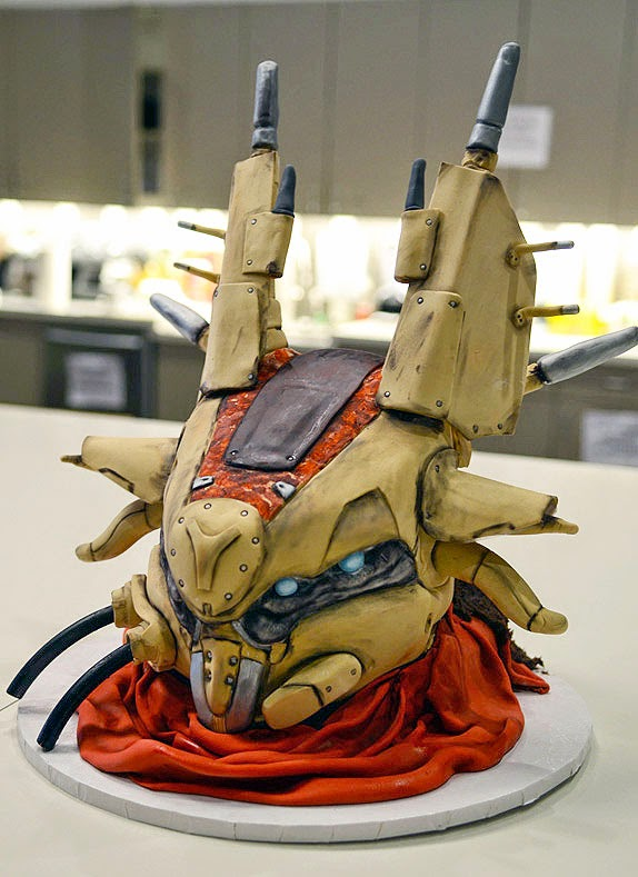 The Fallen birthday cake from Destiny