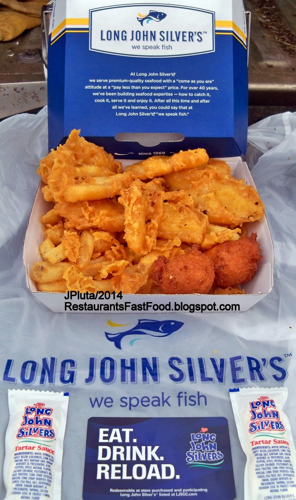 Slc Utah Long John Silver S Fast Food Seafood Restaurants Fish Bites