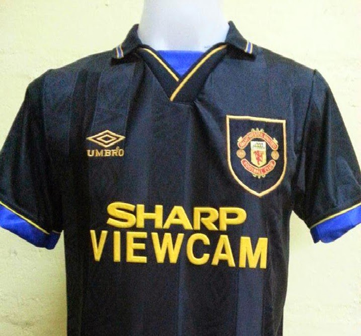 My 5 Favourite Manchester United Kits  f014c07e7