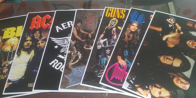 Poster Grup Band Retro