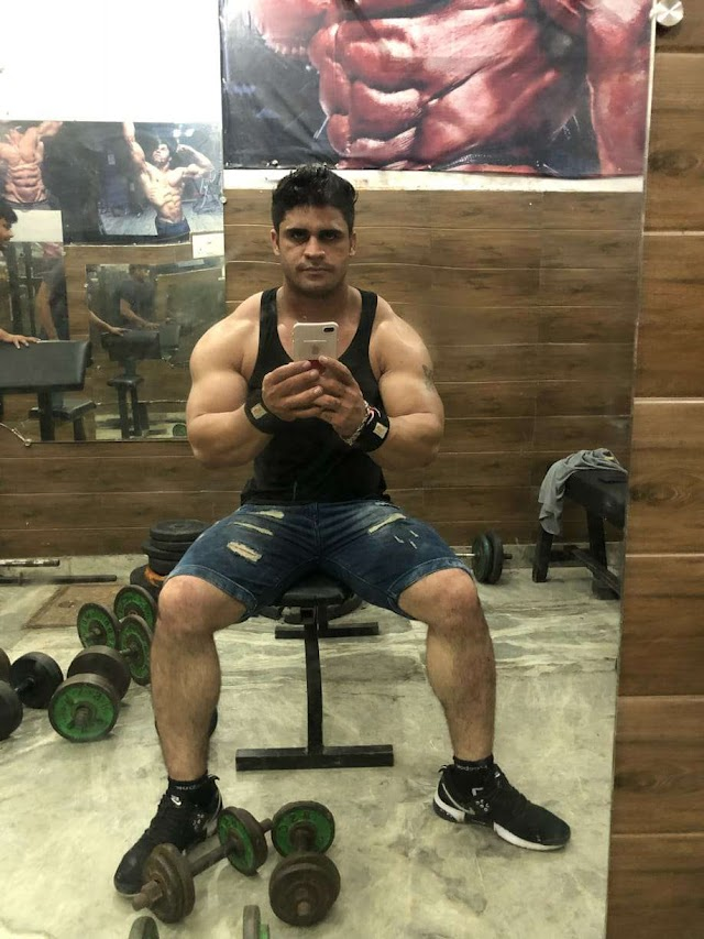 FITNESS TRAINER PROFILE- ANIL DUBEY