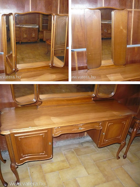 The original dressing table