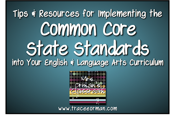 Orman' Classroom Implementing Common Core State
