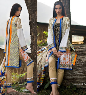 Zunuj Lawn Collection 2016