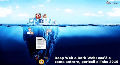 Deep Web, Dark Web, web sommerso, web oscuro, darknet, links, 2019, Tor,