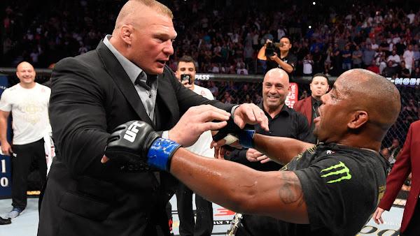 Daniel Cormier quer enfrentar Brock Lesnar na WrestleMania