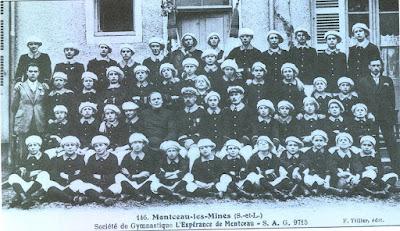 Société de gymnastique l'Espérance, section Montceau