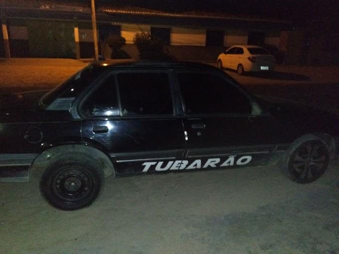 Carro roubado em Serrolândia é recuperado pela Guarda Municipal de Jacobina