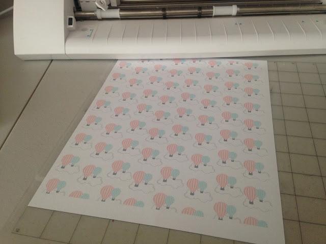 Silhouette Studio, custom patterned paper, Silhouette tutorial, cutting mat