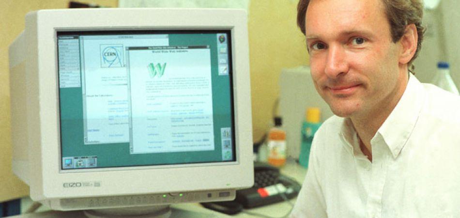 اول موقع ويب في العالم, www, CERN,
