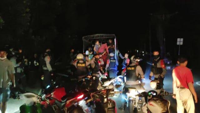 Balap Liar di Mataram, 32 Remaja dari Mataram, KLU dan Loteng Diamankan Polisi