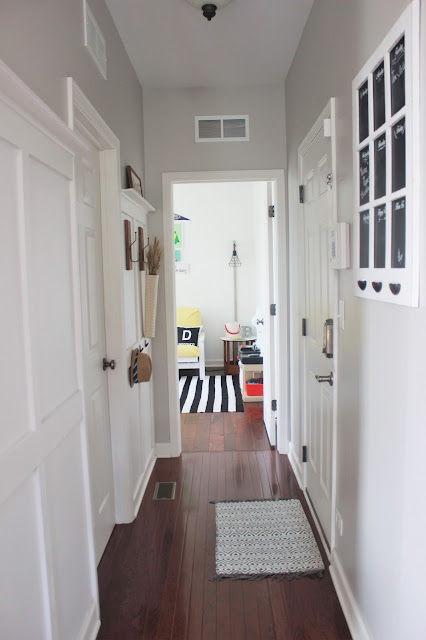 diy board and batten entryway
