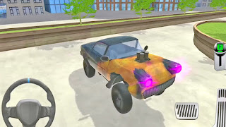 Multi Level Car Parking Garage Simulator