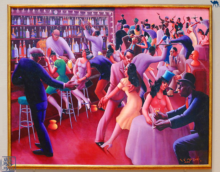 Le Chameau Bleu - Musée à faire à Chicago - Nightlife d'Archibald John Motley