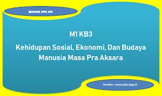 kehidupan sosial ekonomi dan budaya manusia masa pra aksara m1 kb4