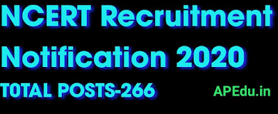 NCERT Recruitment Notification 2020 Out: Apply Online For 266 Teaching Vacancies & Other Posts